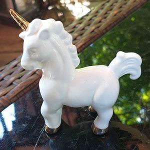 Small Ceramic Unicorn Figurine